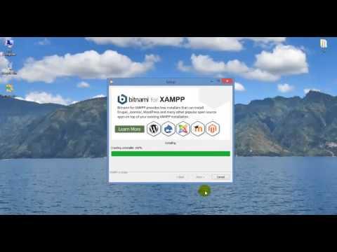 Download and install Xampp - Hướng dẫn tải và cài đặt Xampp