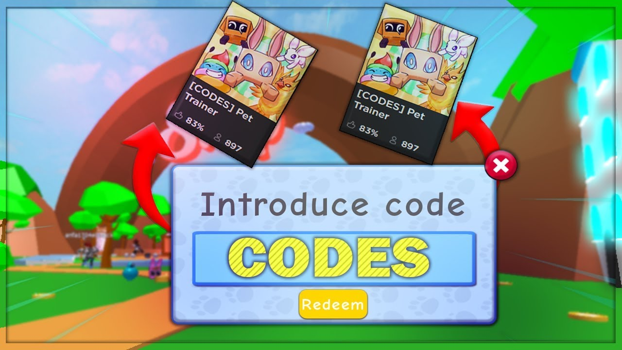 *NEW*   Pet Trainer Codes! (Roblox)