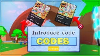 *NEW*... Pet Trainer Codes! (Roblox)