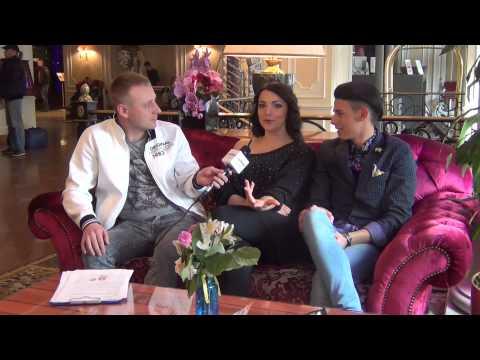 ESCKAZ in Moscow: Interview with Michele Perniola & Anina Simoncini (San Marino)
