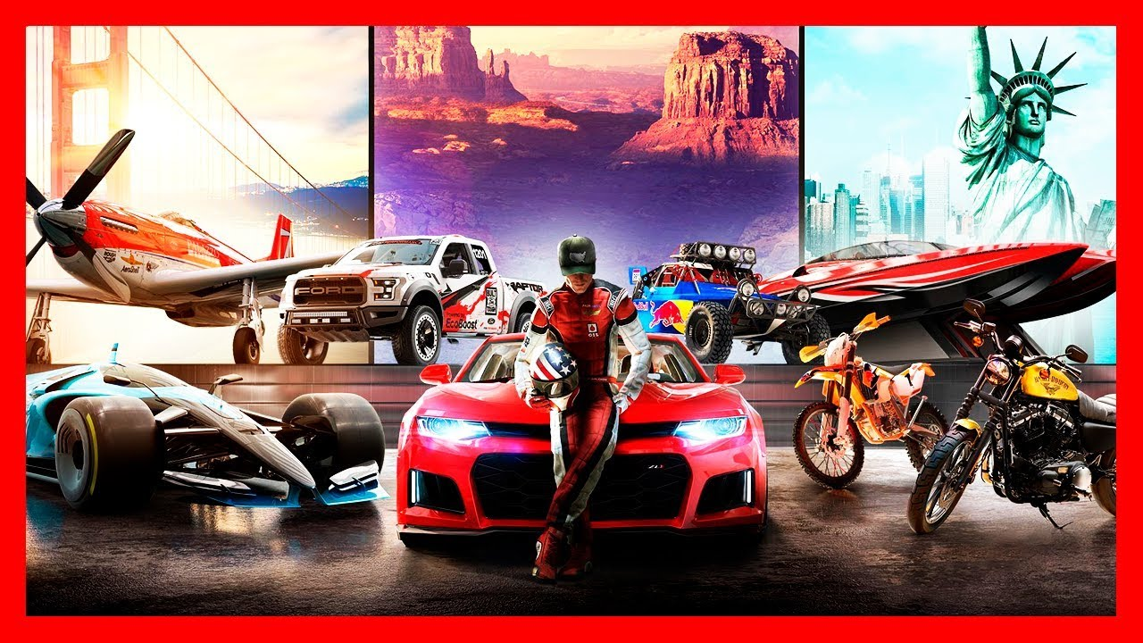 The Crew 2 🚗🛥️🛩️ [ Trial Demo ] Gameplay GTX 1060 Ultra 60fps PC Steam Uplay Racing Car Boat Plane