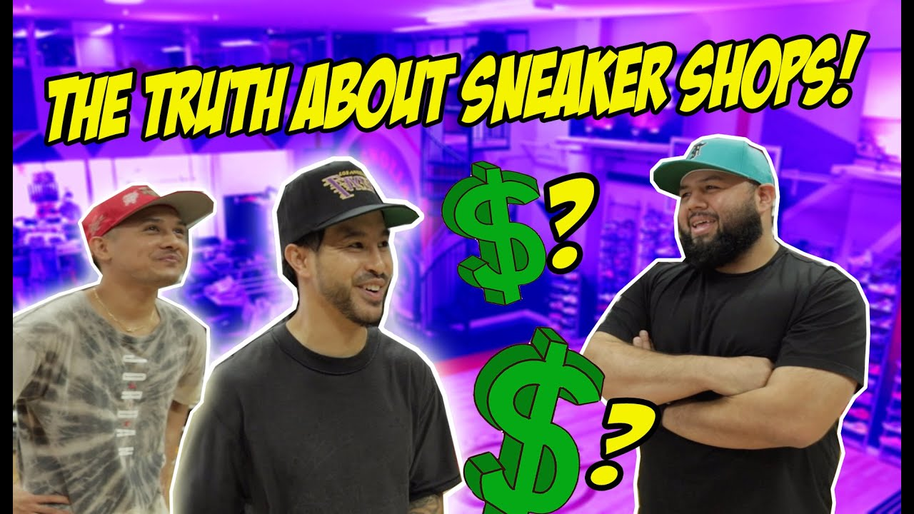 WHAT ITS REALLY LIKE OWNING A SNEAKER SHOP! (DEEP DARK TRUTH)
