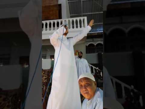 Syekh Motafa Atef In Pondok Pesantren Al-Hamidy Banyuanyar Pamekasan