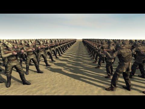 USA INFANTRY vs RUSSIAN CONSCRIPTS - Men of War Assault Squad 2 |