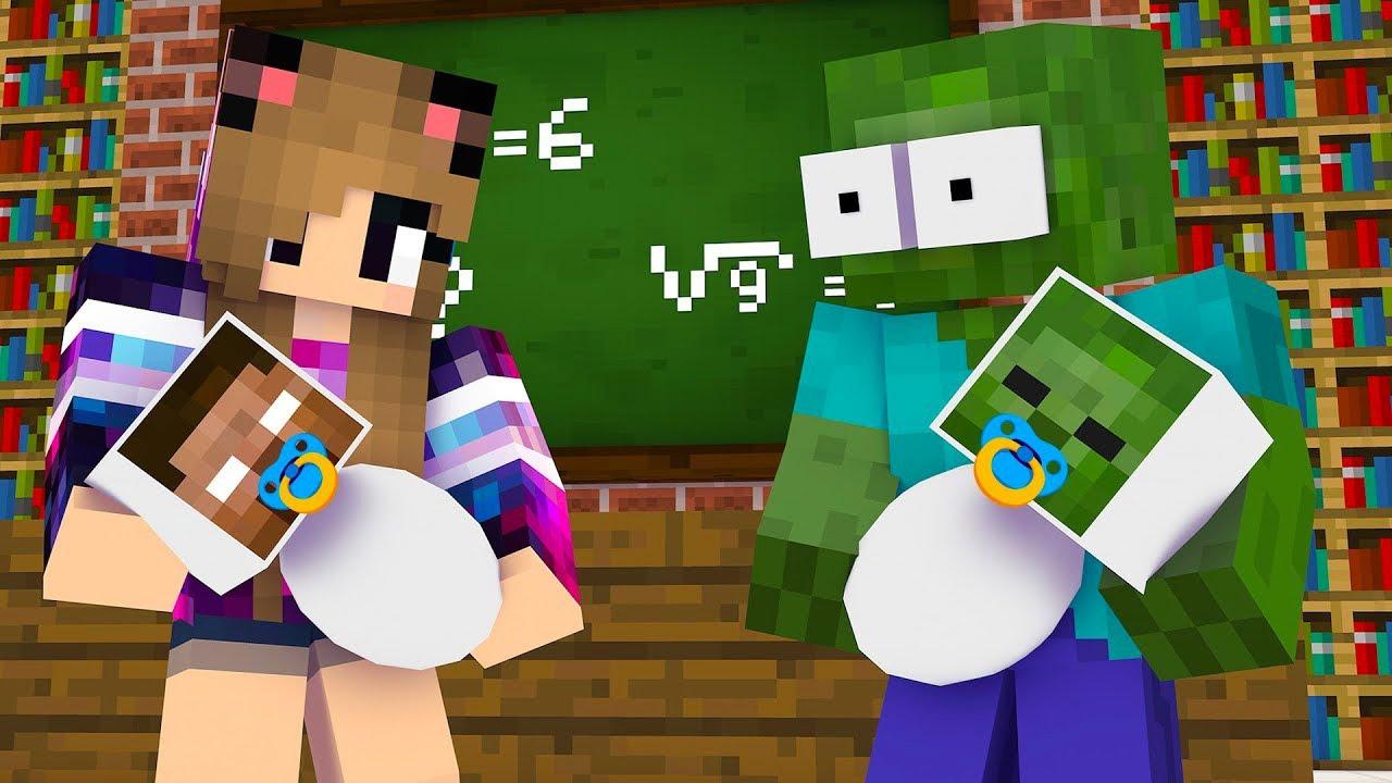 Monster School : EPIC BABY BREWING CHALLENGE - Minecraft Animation
