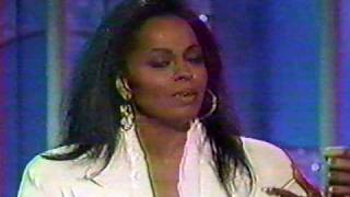 DIANA ROSS INTERVIEW 1991 - THE KISS!