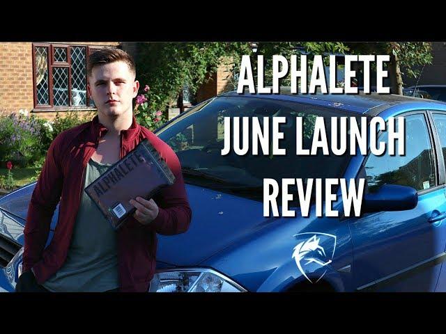 ALPHALETE JUNE LAUNCH REVIEW