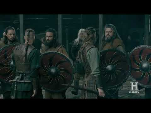 Vikings S05E01 - Ubbe and Hvitserk want to talk with Ivar