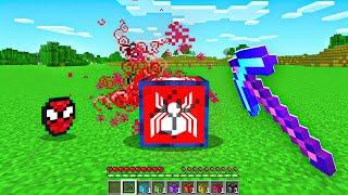 Opening SUPERHERO LUCKY BLOCKS In Minecraft!