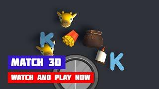 Match 3D · Game · Gameplay