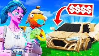 Whatever This 9 Year Old Builds, I Buy... (Fortnite)
