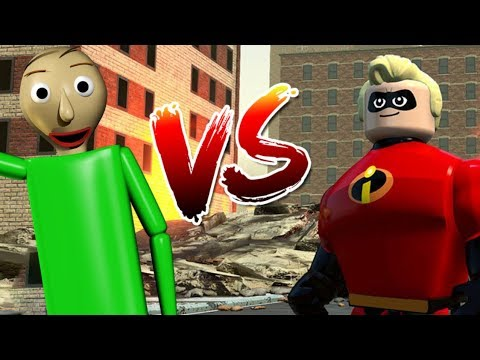 LEGO BALDI SAVES THE INCREDIBLES! - Lego The Incredibles Gameplay #30