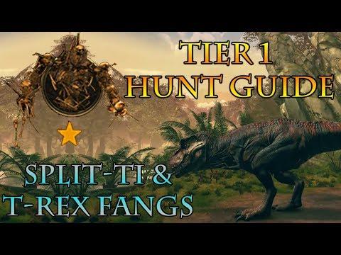 Neverwinter | How To Farm Tier 1 Rare Hunts | (Split-Ti & T-Rex Fangs)