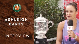 Ashleigh Barty - Interview | Roland-Garros 2019