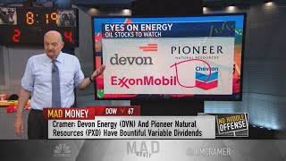 Jim Cramer: Chevron is an attractive stock as price of oil slides