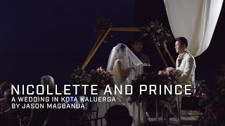 Nicollette and Prince: A Wedding in Kota Kaluerga, Batangas