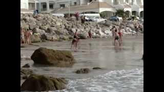 شاطئ الغندوري طنجة 02-08-2012 tangier morocco
