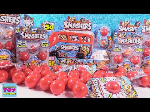 Smashers Palooza Huge Smashing Party Mystery Figures Playset & More Toy Review | PSToyReviews