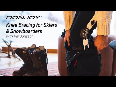 DonJoy Knee Braces for Skiers and Snowboarders - with Per Jonsson