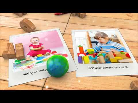 Kid s Photo Album | After Effects template
