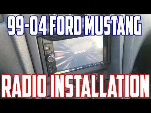 How To Install A Double Din Radio In A 99-04 Mustang