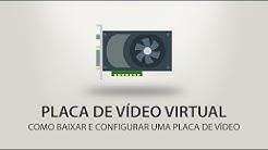PLACA DE VIDEO VIRTUAL | COMO INSTALAR - TUTORIAL + DOWNLOAD | 32 & 64 BITS