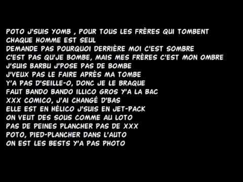 Niska - PSG [Lyrics-Parole]