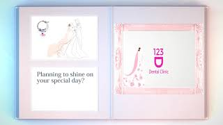 Wedding smile makeover promotion package