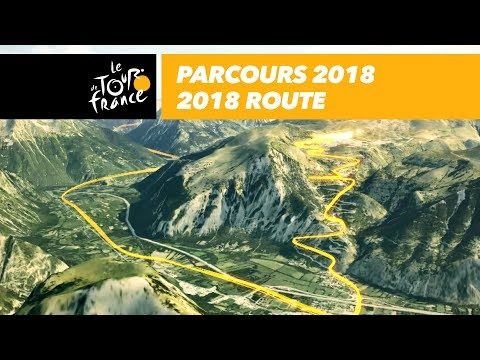 The Route in 3D - Tour de France 2018