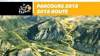 The Route in 3D - Tour de France 2018