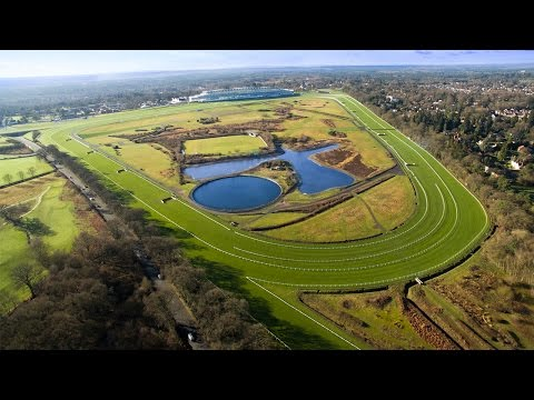 Ascot Racecourse Aerial Drone Video
