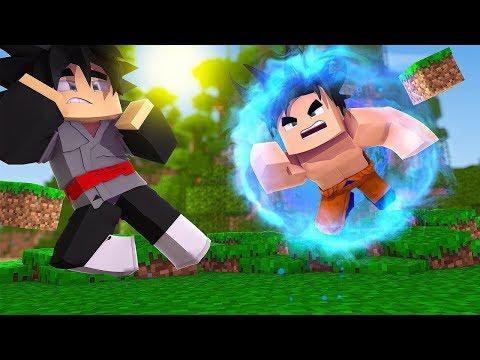 Minecraft: DRAGON BALL 🤜🤛 #4 - ENSINEI O INSTINTO SUPERIOR !! ‹ Ine ›