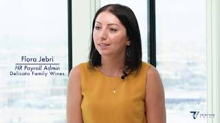 Veritas Prime & SAP SuccessFactors Customer Testimonial: Flora Jebri with Delicato Family Vineyards