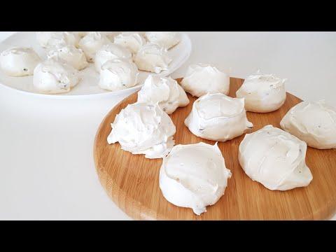 👌dünyanın-en-kolay-ve-lezzetlİ,-Çİkolatali,-bademlİ-beze-(-meringue-)-kurabiyesi-tarifi-#281
