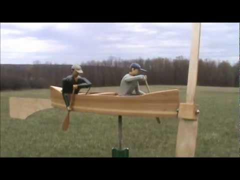 Male golfer Whirligig | Doovi