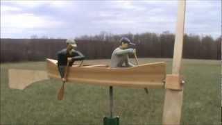 Canoeists Whirligig.wmv