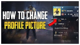 HOW TO CHANGE PROFILE PICTURE / AVATAR IN PUBG MOBILE !!