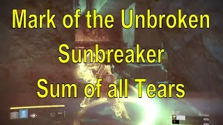 Rumble - Sunbreaker Mark of the unbroken and Sum of all Tears