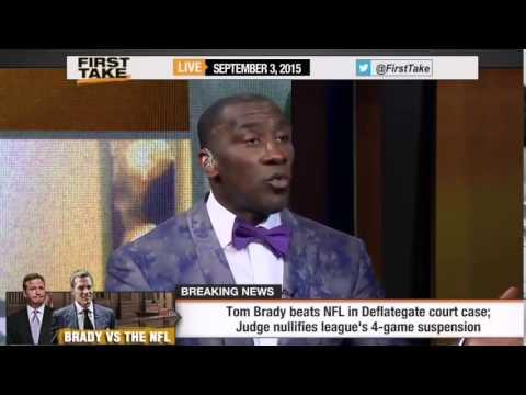 Tom Brady BEATS NFL In Deflategate Court Case!   ESPN First Take