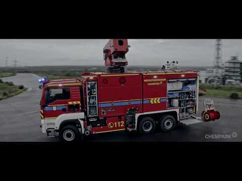 Wir nennen es TULF – neues Turbinenlöschfahrzeug der Werkfeuerwehr Chempark Leverkusen