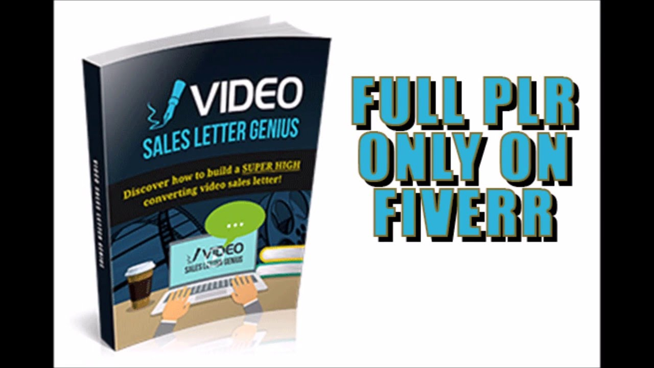 Video Sales Letter Genius With Full Private Label Rights On Fiverr