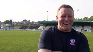 Steve Watson post match interview (V Bradford AFC)