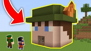 CASA DO ROBIN HOOD NO MINECRAFT!!
