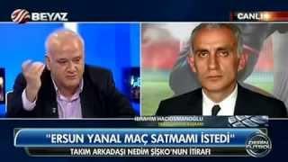 Hacıosmanoğlu - Ahmet Çakar tartışması / Beyaz Futbol (10 Kasım 2014)