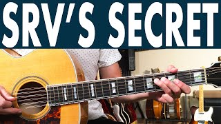The Secret To Stevie Ray Vaughan's Life By The Drop | Most Miss This One Thing!