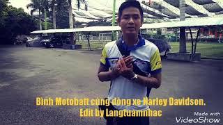 Bình ắc quy Motobatt đồng hành cùng anh Hải Moto Harley Davidson - Langtuamnhac