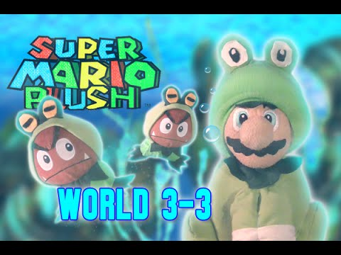 Super Mario Plush World 3-3 - YouTube
