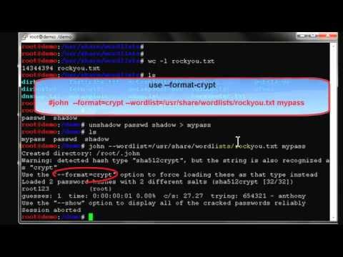 hack gmail using kali linux to crack