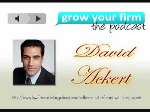 David Ackert - Law Firm Marketing Podcast