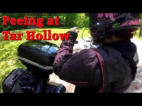 Motorcycle Ride Ohio Hocking Hills area w/ Family & Friends